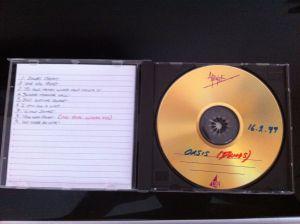 '16.2.1999 demos' - A CD sold online in 2013.